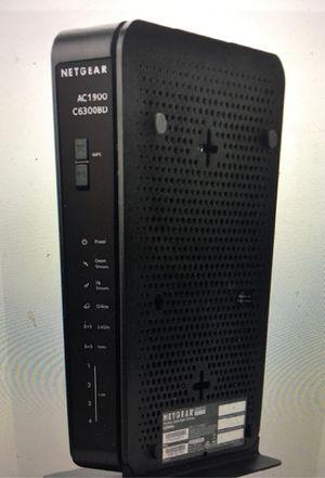 Netgear WiFi modem dual band AC1900 for Sale in Scottsdale, AZ