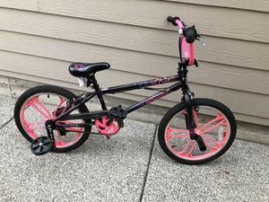"20"" Mongoose Craze Freestyle Girls' BMX Bike for Sale in Lynnwood, WA"