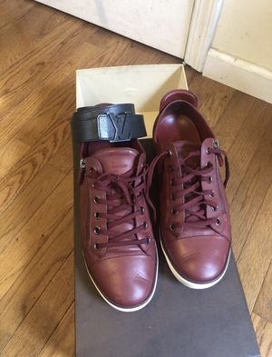 louis vuitton sneakers with belt for Sale in Detroit, MI