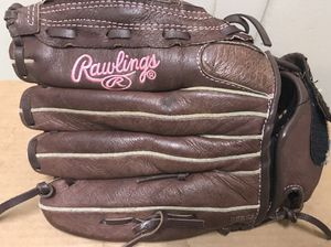 Rawlings fast pitch softball glove fp120pc lht pink stiching for Sale in Lanham, MD