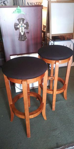 Both For $49! Swivel Bar Stools for Sale in Lancaster, TX