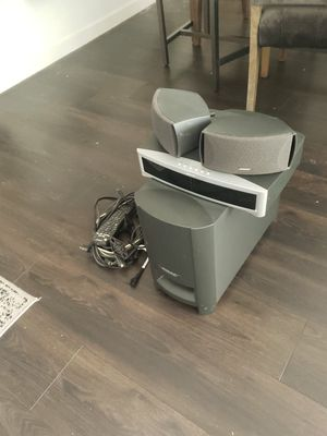 BOSE 321 Surround sound system for Sale in Orchard, CO