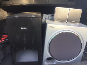 Surround sound system and subwoofer for Sale in Aurora, CO