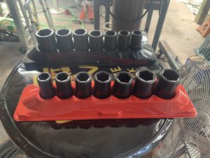 Snap on mid well impact socket sets for Sale in Seminole, FL