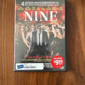Nine DVD for Sale in Arlington, VA