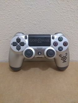 Official Sony Dualshock 4 Ps4 Controller God Of War Limited Edition Like New Condition for Sale in Fresno,  CA