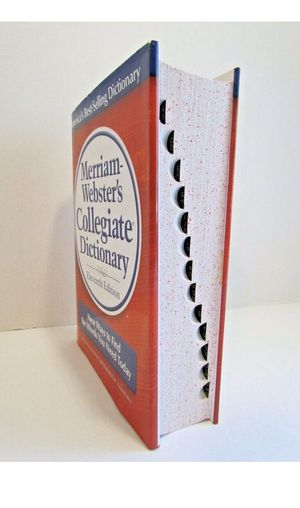 Merriam-Webster Dictionary for Sale in Inglewood, CA