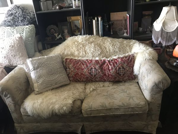 Vintage Loveseat (no pillows or rug)