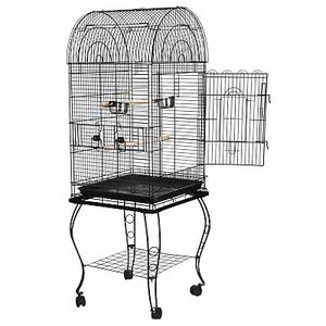 """63"""" Rolling Open Top STURDY Bird Cage with Detachable Stand Cockatiel Macaw Home for Sale in Montebello, CA"""