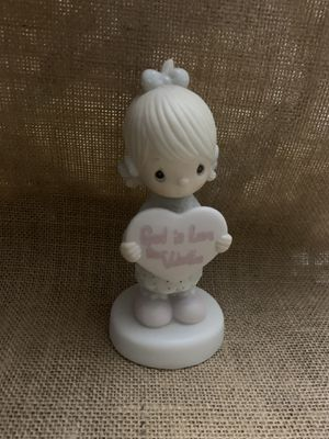 Enesco Precious Moments Figurine 1981 God Is Love Dear Valentine Jonathan David for Sale in Punta Gorda, FL