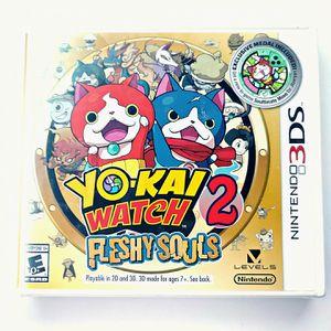 YO-KAI WATCH 2: Fleshy Souls (Nintendo 3DS) BRAND NEW SEALED for Sale in San Diego, CA