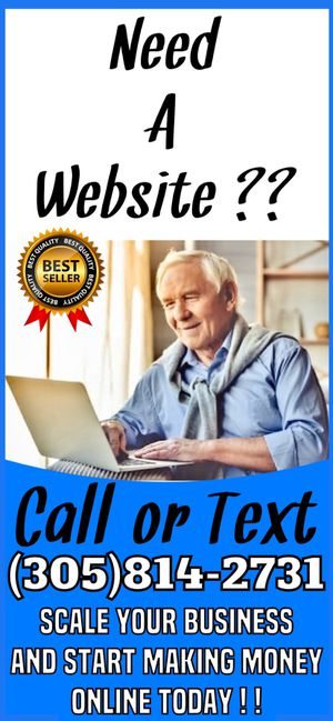 Website design and development + blueprint for fast sales leads and clients for Sale in Hallandale Beach, FL