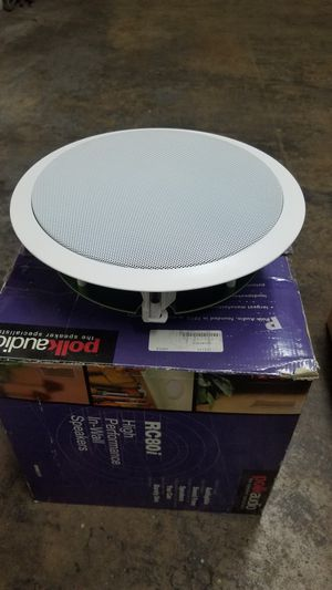 Polk Audio,B&W,Phoenix Gold ceiling and wall speakers for Sale in Aberdeen, MD