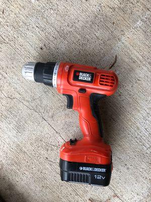 Black&Decker drill for Sale in McKinney, TX