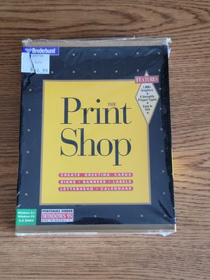 """Classic"" The Print Shop Windows 95 for Sale in Las Vegas, NV"
