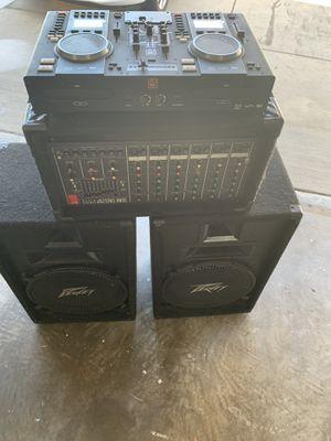 5000 watts power Dj system for Sale in Riverside, CA