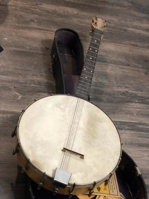 Banjo Antique Natural Banjolel 1920's for Sale in Brooklyn, NY