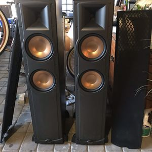Duo Klipsh RF82 Floor Speakers and Subwoofer for Sale in Huntington Beach, CA