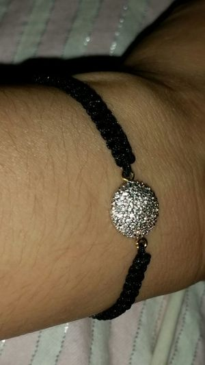 black and silver colored friendship bracelet for Sale in Alexandria, VA