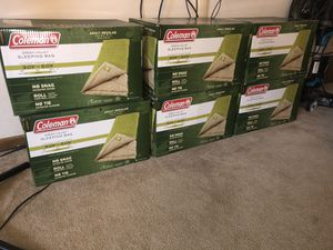 Brand New Coleman Green Valley Sleeping Bag for Sale in Columbus, OH