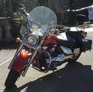 Red Suzuki Boulevard Motorcycle for Sale in Damascus, OR