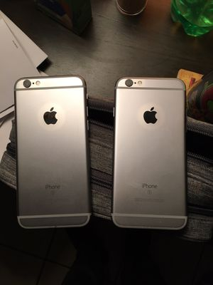 Apple iPhone 6s 32gb space grey carrier unlocked for any company like new PRICE IS FOR EACH NO TRADES for Sale in Bakersfield, CA
