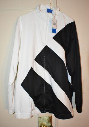 "BRAND NEW ADIDAS EQT JACKET ""WHITE/BLACK"" SZ XXL for Sale in Alexandria, VA"