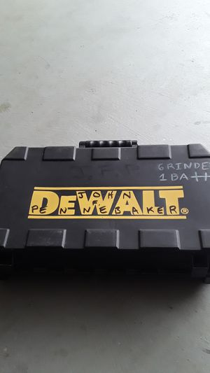 Dewalt cases for Sale in Sugar Hill, GA