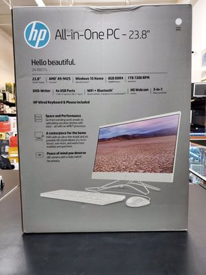 """All in One Computer, 23.8"""" Screen, Amd Processor with Keyboard and Mouse. NEW!!! for Sale in Boca Raton, FL"""