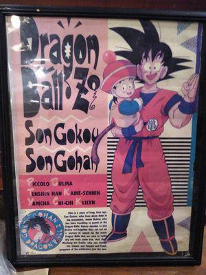 Framed Dragonball z poster for Sale in Lemon Grove, CA
