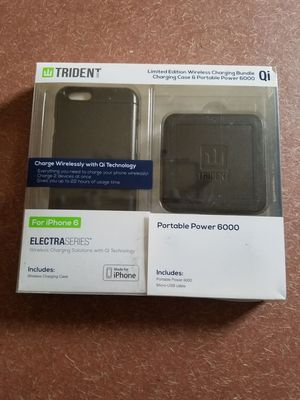 Trident Qi wireless charging case and charging pad for Sale in Columbus, OH