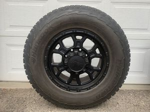 "V-Tec 17"" Wheels with Hankook snow tires for Sale in Leavenworth, WA"