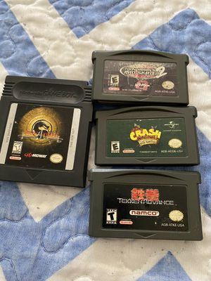 GameBoy advance and game boy game for Sale in Chula Vista, CA