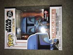 Funko pop exclusive Disney Star Wars mandalorian death watch two stripes for Sale in Portland, OR