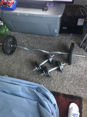 Dicks Sporting goods weight set for Sale in Columbus, OH