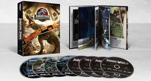 Jurassic Park 4K 25th Anniversary Collection for Sale in Chino Hills, CA