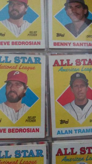 1988 all star topps baseball cards for Sale in Concord, CA