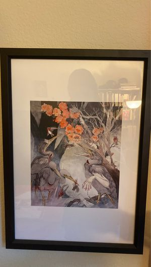 Caitlyn Hackett Art print with frame. for Sale in Livermore, CA