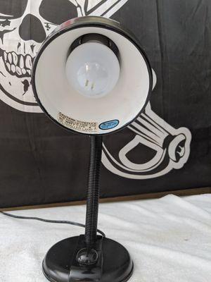 Black desk lamp with light bulb for Sale in Port Charlotte, FL