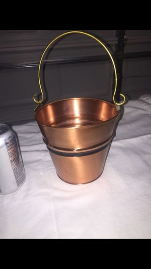 Copper flower pot for Sale in Colorado Springs, CO