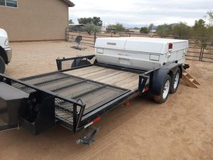 2015 20' Trailer with Coleman Taos pop-up for Sale in Cave Creek, AZ