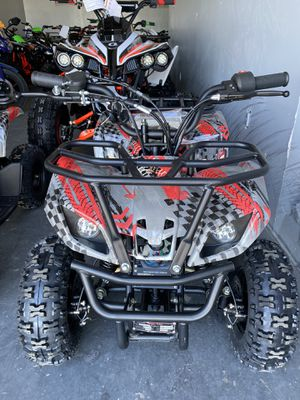 Brand new kids size atv 70 cc automatic Battery gas no reverse Finance warranty services part for Sale in Odessa, TX