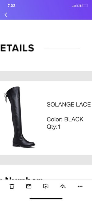 Brand new thigh high boots for Sale in Detroit, MI