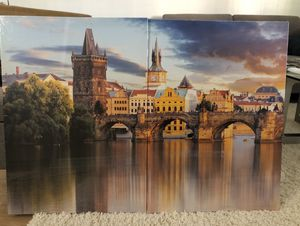 Large canvas picture of Charles bridge in Prague, new for Sale in Phoenix, AZ