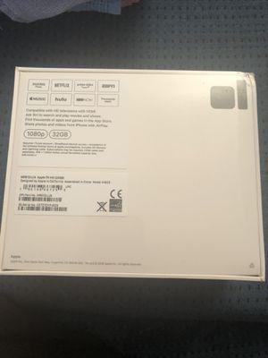 Apple TV HD 4th Gen 32Gb for Sale in Virginia Beach, VA