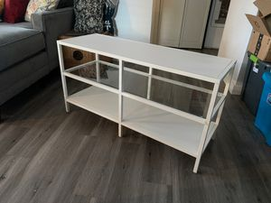 White - TV Stand for Sale in Beaverton, OR