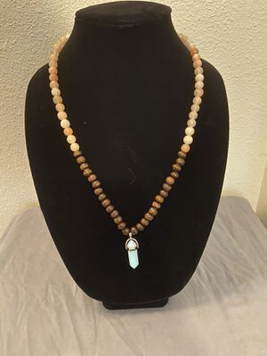 Moonstone beaded necklace for Sale in Austin, TX