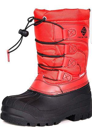 New size 2 Boy / Girl Toddler/Little Kid/Big Kid Knee High Winter Snow Boots for Sale in San Jose, CA