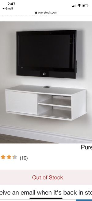 38-inch Wall Mounted Media Console for Sale in Boston, MA