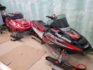 2005 Polaris Switchback 800 and 2003 Pro X 700 for Sale in Bloomfield, CT